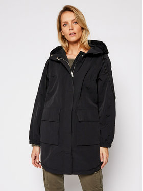Guess Guess Parka Rae W1RL85 WDUM0 Nero Regular Fit