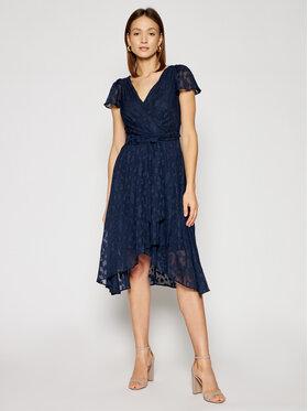 DKNY DKNY Коктейлна рокля DD1AD154 Тъмносин Regular Fit