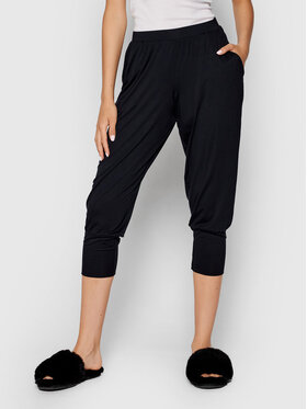 Hanro Hanro Spodnie piżamowe Yoga 8389 Czarny