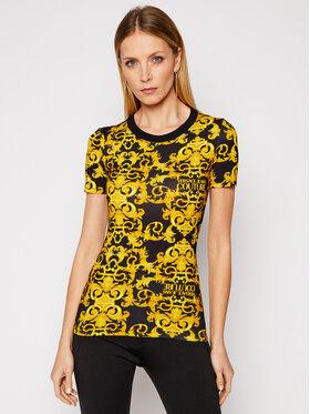 Versace Jeans Couture Versace Jeans Couture Póló B2HWA708 Fekete Slim Fit