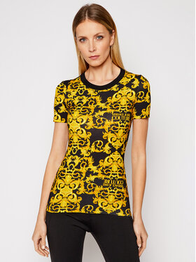 Versace Jeans Couture Versace Jeans Couture T-Shirt B2HWA708 Černá Slim Fit