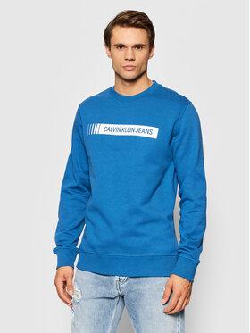Calvin Klein Jeans Calvin Klein Jeans Bluza J30J318796 Niebieski Regular Fit