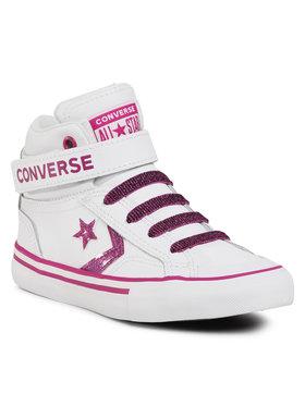 Converse Converse Sneakersy Pro Blaze Strap Hi 668475C Bílá