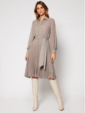 Lauren Ralph Lauren Lauren Ralph Lauren Sukienka koszulowa 200808022001 Szary Regular Fit