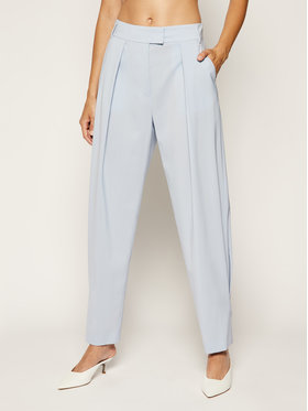 MAX&Co. MAX&Co. Pantaloni di tessuto Nonato 71340120 Blu Regular Fit