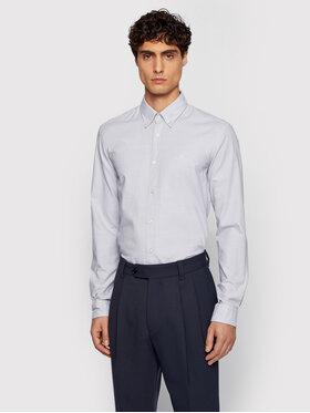 Boss Boss Marškiniai Rod_53E 50448887 Pilka Slim Fit