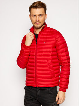 Tommy Hilfiger Tommy Hilfiger Giubbotto piumino Packable Down MW0MW14608 Rosso Regular Fit