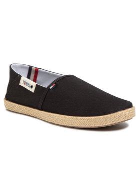 Tommy Jeans Tommy Jeans Espadrile Summer Shoe EM0EM00423 Negru