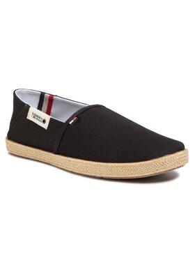 Tommy Jeans Tommy Jeans Еспадрили Summer Shoe EM0EM00423 Черен