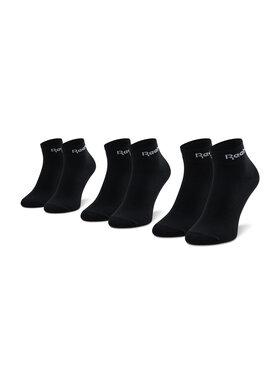 Reebok Reebok Súprava 3 párov kotníkových ponožiek unisex Act Core Ankle Sock 3P GH8166 Čierna
