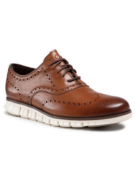 Cole Haan Cole Haan Chaussures basses Zerogrand Wing Ox C14493 Marron