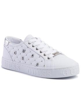 Guess Guess Sneakersy Gladiss FL5GLA ELE12 Biały