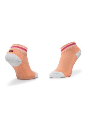 TOMMY HILFIGER TOMMY HILFIGER Vaikiškų trumpų kojinių komplektas (2 poros) 374020001 Raudona