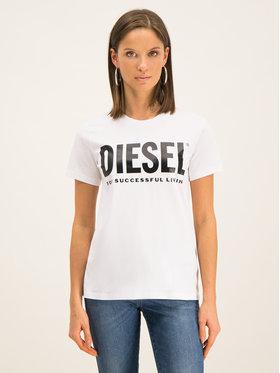 Diesel Diesel T-Shirt T Sily 00SYW8 Biały Regular Fit