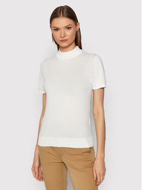 United Colors Of Benetton United Colors Of Benetton Golf 102MD2543 Biały Regular Fit