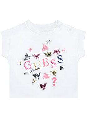 Guess Guess T-Shirt K1GI03 K6YW1 Biały Regular Fit