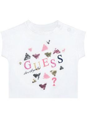 Guess Guess T-shirt K1GI03 K6YW1 Blanc Regular Fit
