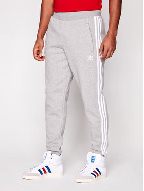 adidas adidas Долнище анцуг Classics GN3530 Сив Fitted Fit
