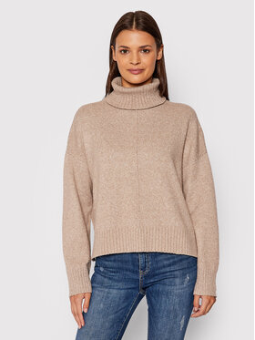 Noisy May Noisy May Dolcevita Nmian 27012454 Beige Loose Fit