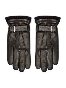 Calvin Klein Calvin Klein Γάντια Ανδρικά Leather Rivet Gloves K50K507425 Μαύρο