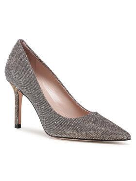 Hugo Hugo Обувки на ток Ines 50441676 10230820 01 Сребрист