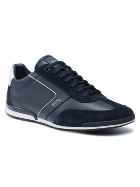 Boss Boss Sneakersy Saturn 50455305 10231638 01 Granatowy