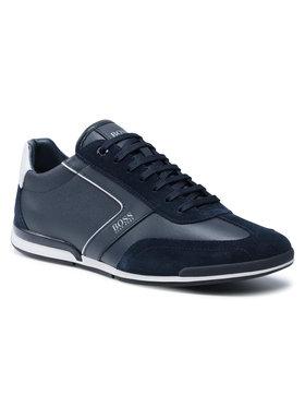 Boss Boss Sneakersy Saturn 50455305 10231638 01 Tmavomodrá
