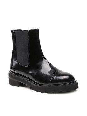 Stuart Weitzman Stuart Weitzman Členková obuv s elastickým prvkom Frankie Lift Bootie S5615 Čierna