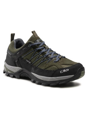 CMP CMP Παπούτσια πεζοπορίας Rigel Low Trekking Shoe Wp 3Q54457 Πράσινο