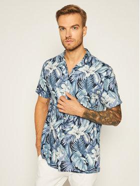 Tommy Hilfiger Tommy Hilfiger Košeľa Hawaiian Print MW0MW13936 Modrá Regular Fit
