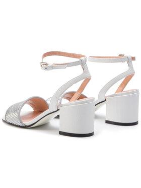 Pollini Sandále SA16506C07T8190A Biela