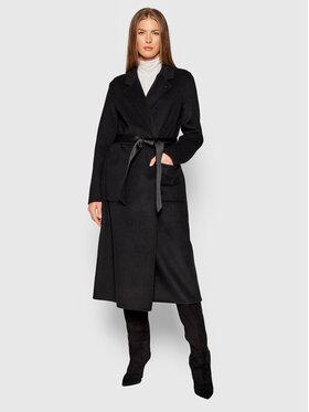 Calvin Klein Calvin Klein Παλτό μεταβατικό K20K203056 Μαύρο Loose Fit