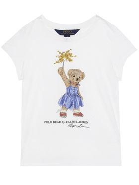 Polo Ralph Lauren Polo Ralph Lauren T-Shirt Bear Tee 311790444001 Weiß Regular Fit