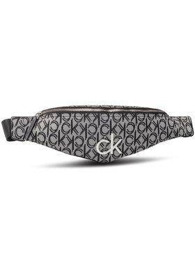 Calvin Klein Calvin Klein Saszetka nerka Re-Lock J Waistbag K60K607078 Granatowy