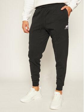 New Balance New Balance Παντελόνι φόρμας Athletics Village Fleece Pant MP03503 Μαύρο Regular Fit
