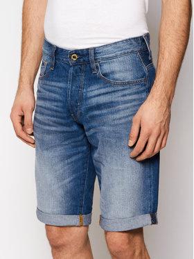 G-Star Raw G-Star Raw Szorty jeansowe 3301 1/2 D07432-8973-071 Granatowy Straight Fit