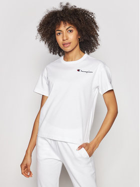 Champion Champion T-shirt 114167 Blanc Custom Fit