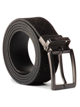 Guess Guess Pánsky opasok Not Coordinated Belts BM7259 LEA35 Čierna