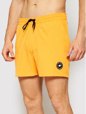 4F 4F Pantaloni scurți de plajă SKMT001 Portocaliu Regular Fit