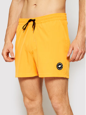 4F 4F Plážové šortky SKMT001 Oranžová Regular Fit