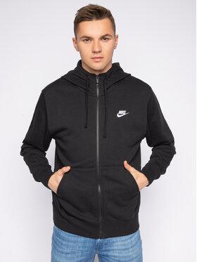 NIKE NIKE Μπλούζα Sportswear Club BV2648 Μαύρο Standard Fit