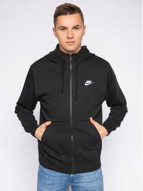 NIKE NIKE Суитшърт Sportswear Club BV2648 Черен Standard Fit