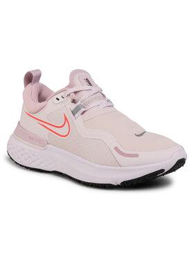 Nike Nike Buty React Miler Shield CQ8249 600 Różowy