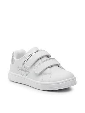 Tommy Hilfiger Tommy Hilfiger Sneakersy Low Cut Velcro Sneaker T1A4-31155-1220 Biały