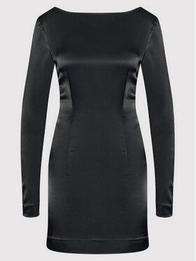 ROTATE ROTATE Koktejlové šaty Allyssa RT332 Černá Slim Fit