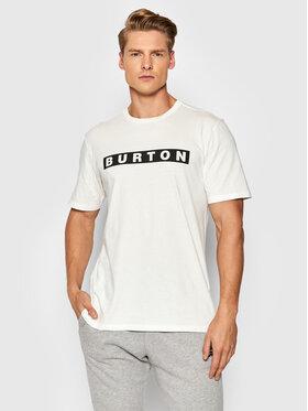 Burton Burton T-Shirt Vault 20376107100 Biały Regular Fit