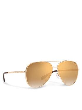 Michael Kors Michael Kors Сонцезахисні окуляри Chelsea Brgiht Золотий