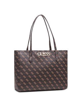 Guess Guess Τσάντα Uptown Chic (QL) HWQL73 01250 Καφέ