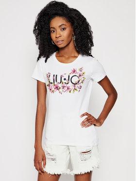 Liu Jo Liu Jo T-Shirt WA1569 J0250 Bílá Slim Fit