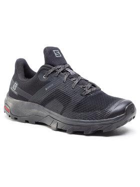 Salomon Salomon Chaussures de trekking Outline Prism Gtx W GORE-TEX 411213 21 M0 Noir